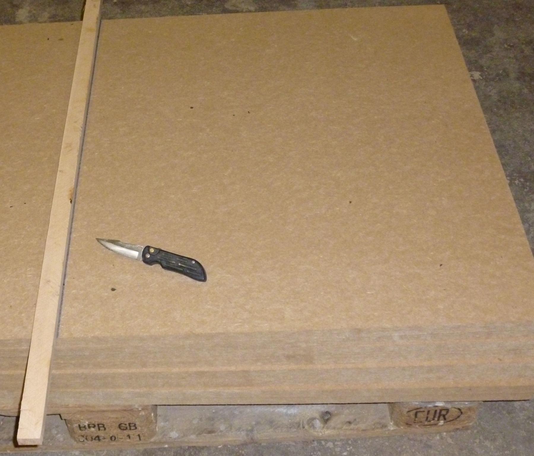 Turbo Schneiden der Holzfaserplatte KX02